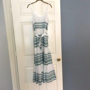 MMIRAG Spaghetti Strap Boho Maxi Dress. New!